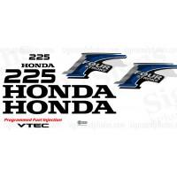 Honda 225HP  Decal Kit