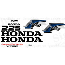 Honda 225HP  Decal Kit