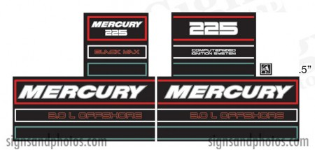 Mercury 225 Later model