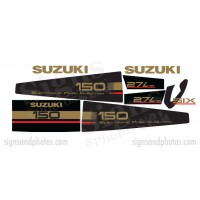 Suzuki 150HP Decal Kit