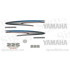 Yamaha 225HP four stroke Decal Kit