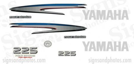 Yamaha 225HP four stroke Decal Kit