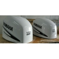 Yamaha 225HP four stroke Decal Kit (Black)