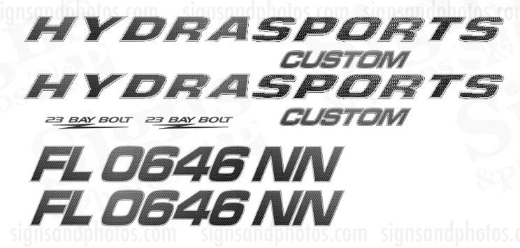 Hydra Sports  Custom Decals texture
