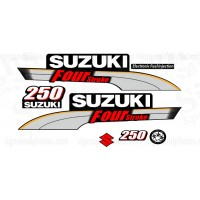 Suzuki 250HP Four Stroke Decal Kit