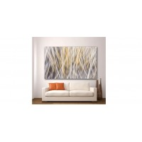 Wall Glass Art Abstract Blur