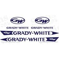 Grady White Decal Kit