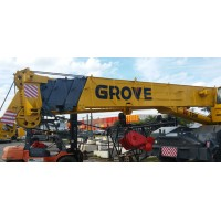 "Grove Crane  Vinyl Decal Emblem Logon 95""x17"""