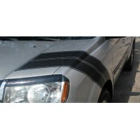 Honda Pilot Hash Mark  Matte Black