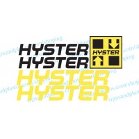 Hyster  Decal Kit