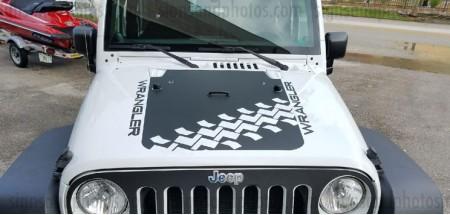 Jeep wrangler 2007-2016 Hood Graphic