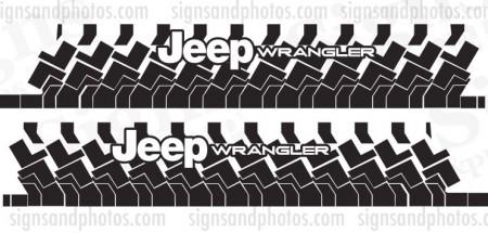 Jeep wrangler 2007-2016 JK 2 Door Graphic