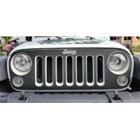 Jeep wrangler 2007-2016 Grill Graphic