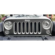 Jeep wrangler 2007-2016 Grill Graphic