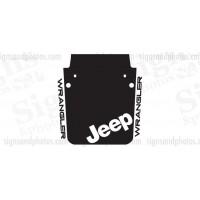 Jeep wrangler 2007-2016 Hood Graphic jeep badge