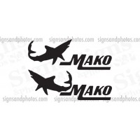 Mako  Decal