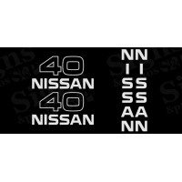 Nissan  40  Decal Kit (2005)