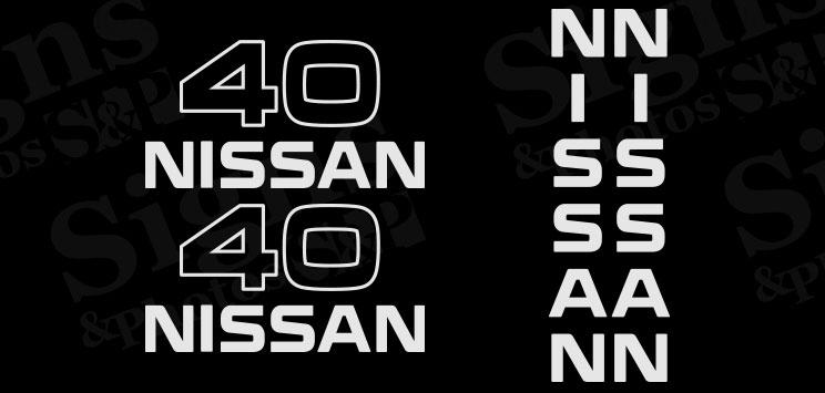 Nissan  40  Decal Kit (2005)