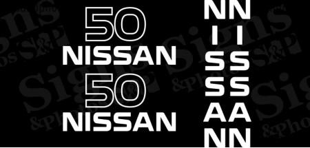 Nissan  50  Decal Kit (2005)
