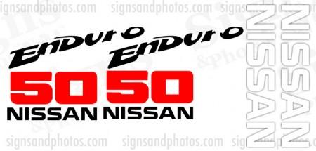 Nissan  50 Enduro  Decal Kit