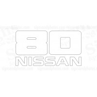 Nissan  80  Decal