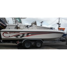 Paramount Boat Logo Graphic Decals