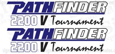 Pathfinder Boat Logo Decals