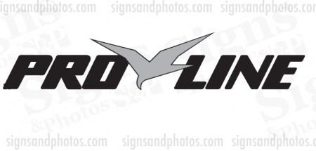 Pro Line Boat Name Decals