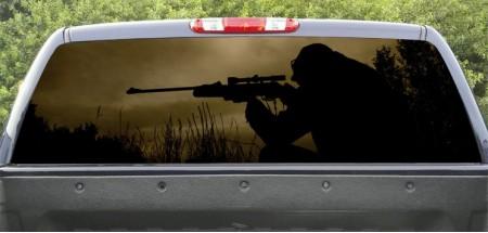 Rear Window Navy Seal Sniper