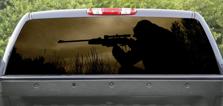 Rear Window Navy Seal Sniper