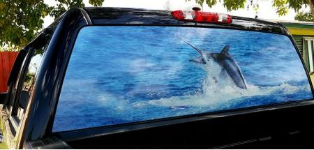 Rear Window Graphic Marlin