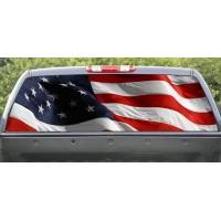 Rear Window Graphic USA Flag