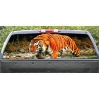 Rear Window Graphic Tiger