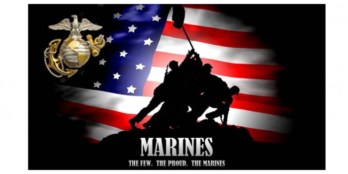 Rear Window Graphic Marines, The few, The Proud, The Marines