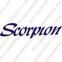Scorpion Decal