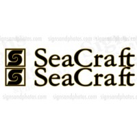 Sea Craft Boat  Decals