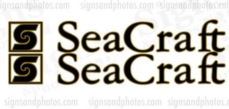 Sea Craft Boat  Decals
