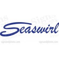 Seaswirl Boat Logo