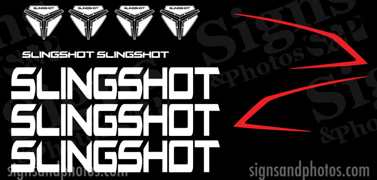 Slingshot Decals kit