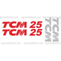 TCM 25 Decal KIT