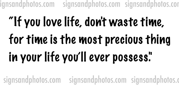 "Wall Decals ""If you love life"""