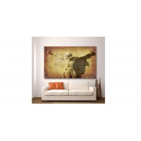 Wall Glass Art Jesus