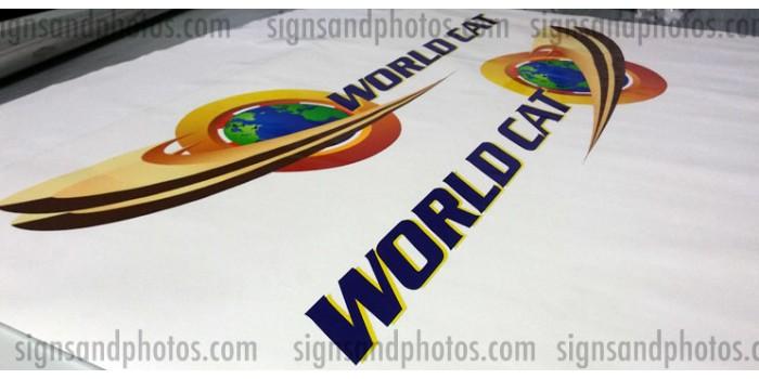 World Cat Logo Decals