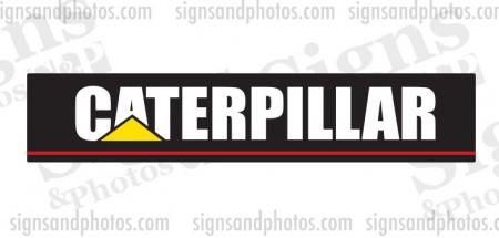 """Caterpillar forklift Decal 18""""x3.5"""""""