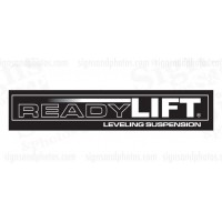 "READY LIFT Decal 7.25""x1.5"""