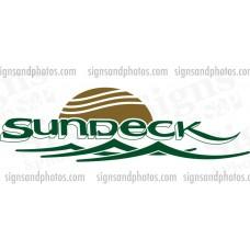 Sea Ray Sundeck Decal